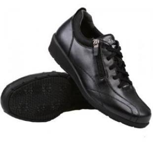 IS多威真皮健步鞋超时尚女款黑色37号