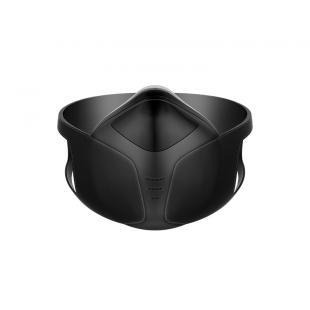 澳得迈牌穿戴式空气净化器富氧电动口罩(黑色)