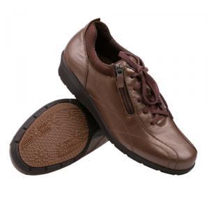 IS多威真皮健步鞋超时尚女款中棕36号