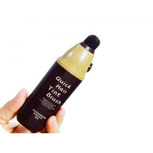 粟秀即时美发遮盖焗油膏(黑色)